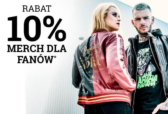 Rabat 10% MERCH DLA FANÓW