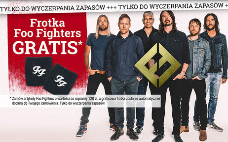 Frotka Foo Fighters GRATIS