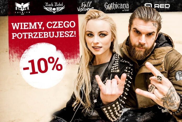 Rabat 10% na ekskluzywne marki*