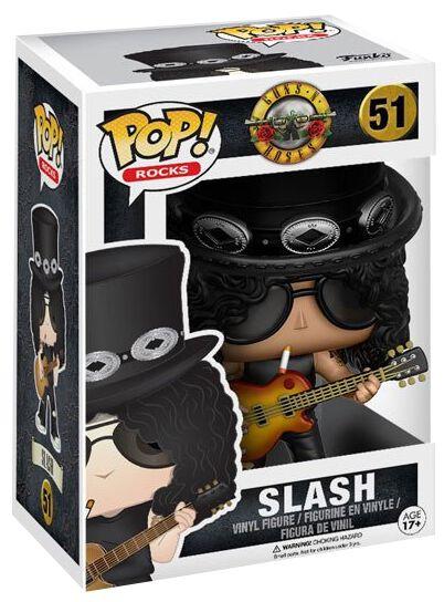 Gn R Slash Rocks Vinyl Figure 51 Guns N Roses Funko Pop