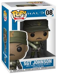 Sgt. Johnson (Cigar) (Chase Edition Possible) Vinyl Figure 08