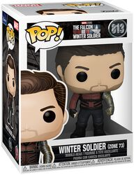 Winter Soldier Outfit Vinyl Figure 813