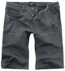 Destroyed Biker Short