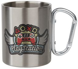 Wings - Mug With Carabiner Clip