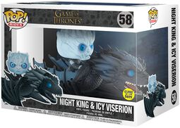 Night King & Icy Viserion POP Rides Vinyl Figure 58
