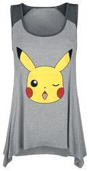 Winking Pikachu