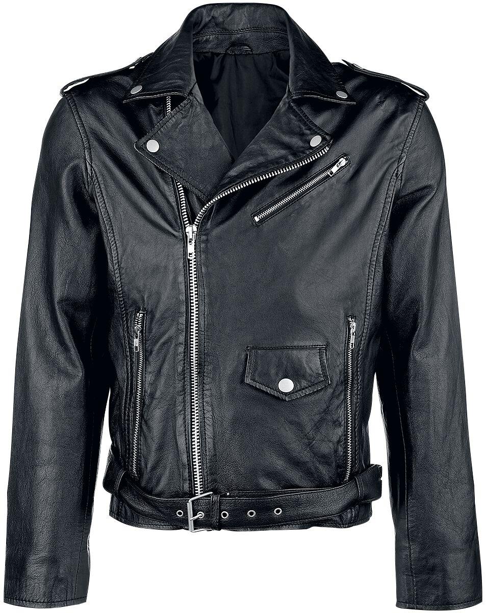 fb1959477c020 kurtka skórzana | Classic Style Kurtka skórzana | EMP