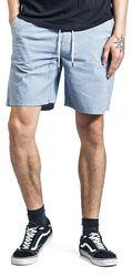 Chambray Drawstring Shorts