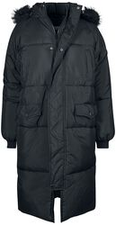 Ladies Oversize Faux Fur Puffer Coat