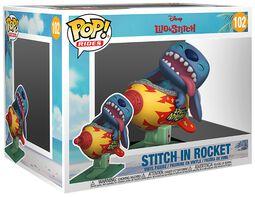 Stitch In Rocket (Pop! Rides) Vinyl Figure 102