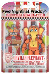 Pizza Simulator - Orville Elephant Action Figure