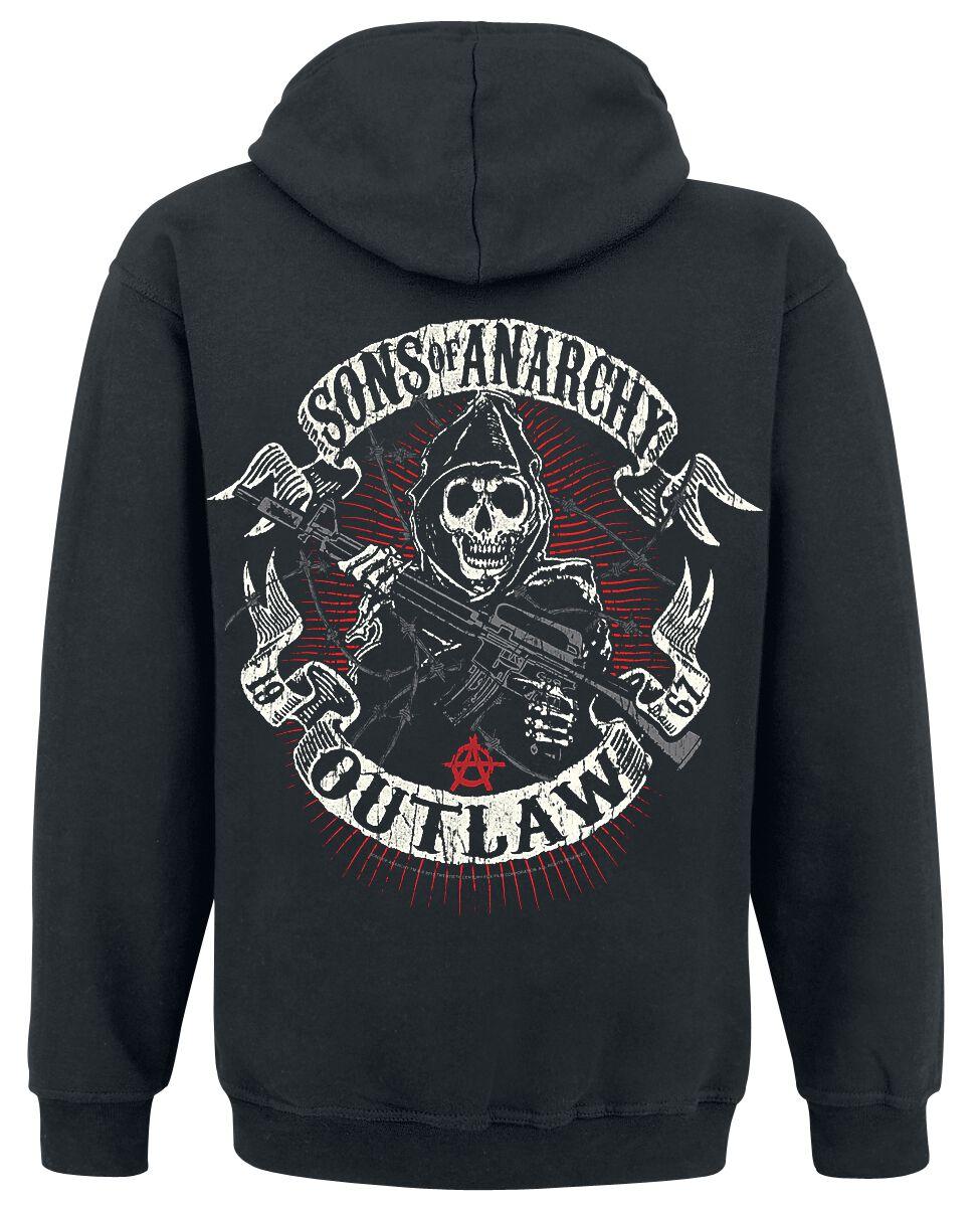 bbcceec20 American Outlaw | Sons Of Anarchy Bluza z kapturem | EMP