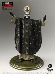Ghost Papa Rock Iconz Statue