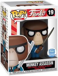 Fantastik Plastik - Monkey Assassin (Funko Shop Europe) Vinyl Figure 19
