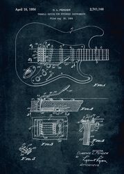 gitara Displate (Fender)