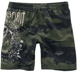 Rock Rebel Swimshorts with Print