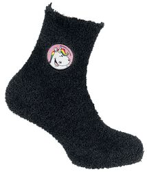 Cosy socks with a wink