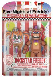 Pizza Simulator - Rockstar Freddy Action Figure