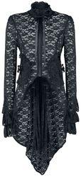 Pirate Coat in Black Lace