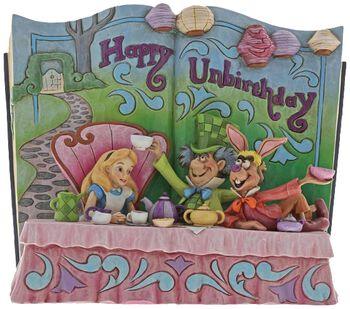 Happy Unbirthday (Storybook Alice in Wonderland Tea Party Figurine)