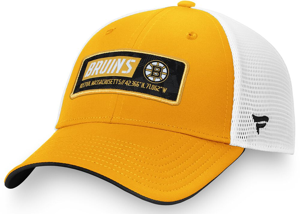 Boston Bruins - Iconic Defender Meshback Cap