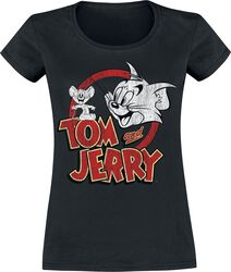 Tom And Jerry Distressed