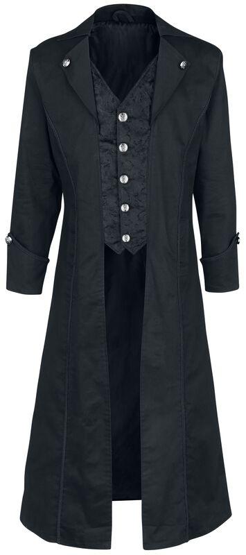 Dark Brocade Coat