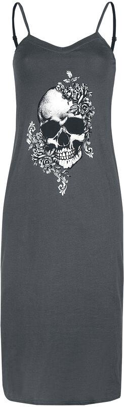 Nightshirt with Skull Print