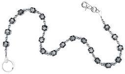 Chain with Plastic Dice & Skulls