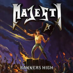 Banners high
