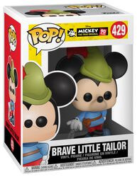 Mickey's 90th Anniversary - Brave Little Tailor Mickey Vinyl Figure 429