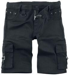 Black Stud Shorts