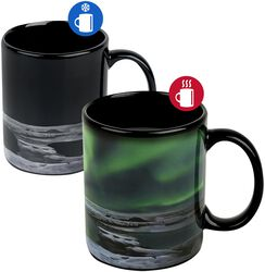 Northern Lights - Heat-Change Mug Northern Lights - Heat-Change Mug