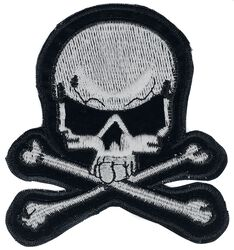 Large Grey Skull Patch