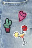 Destroyed Patch Jeans