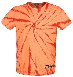 RED X CHIEMSEE - Orange/Red Batik T-Shirt