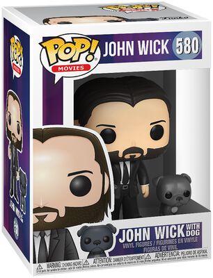 John Wick Chapter 3 - John Wick with Dog Vinyl Figure 580
