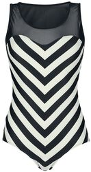 Big Party Stripes Swimsuit