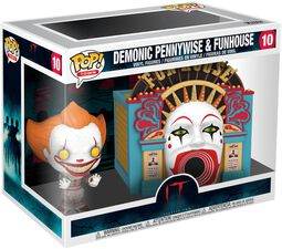 Chapter 2 - Demonic Pennywise & Funhouse (Pop! Town) Vinyl Figure 10