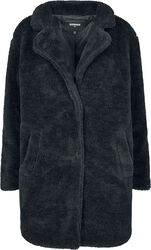 Ladies Oversized Sherpa Coat