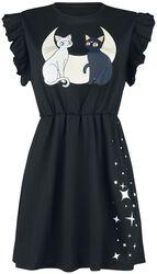 Luna and Artemis -  Moon Cats