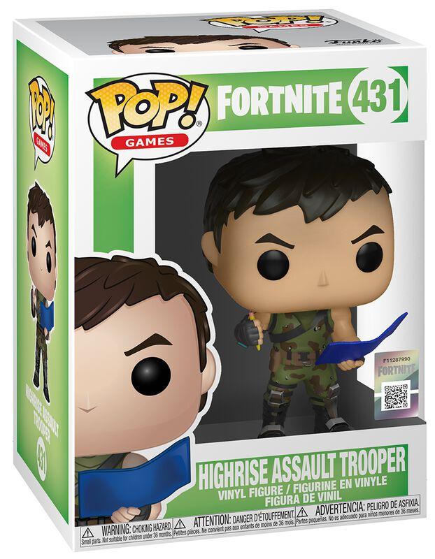 Highrise Assault Trooper Vinyl Figure 431