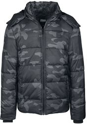Hooded Camo Puffer Jacket