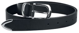 Faux-Leather Belt