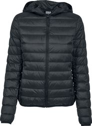 Ladies Basic Hooded Down Jacket
