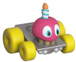 Super Racers  - Cupcake Vinyl Figure