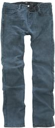 Jared - Blue-Grey Jeans with Individual Wash