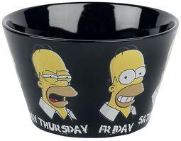 Simpsons Homer's Week Bowl