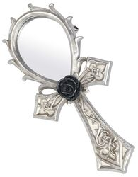 Gothic Ankh Hand Mirror
