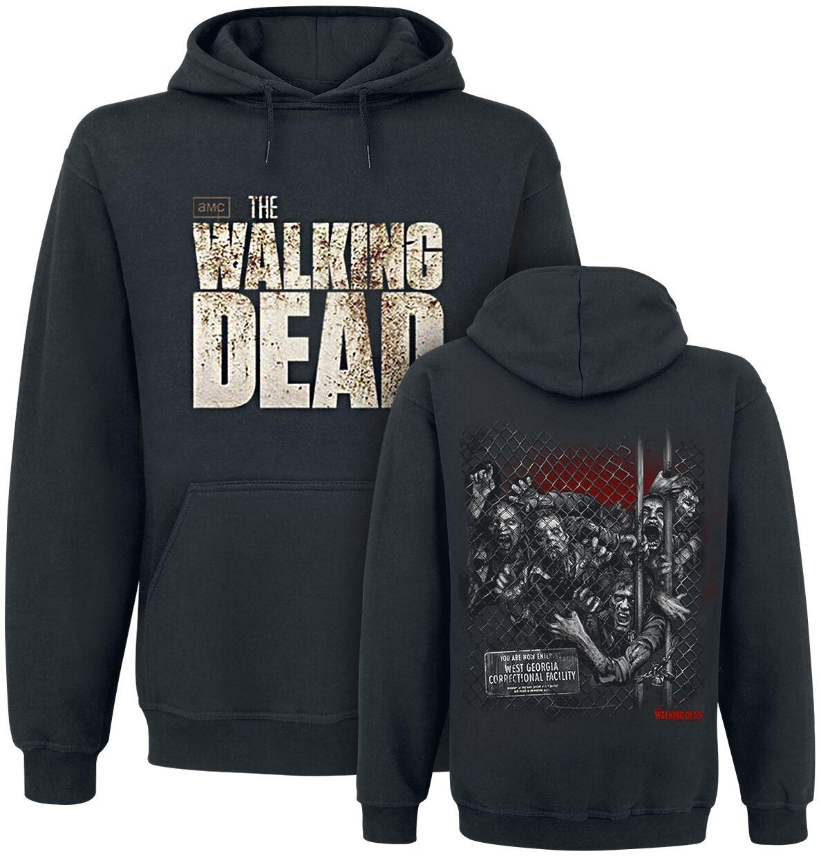 d12de65b2 Walkers Fence | The Walking Dead Bluza z kapturem | EMP